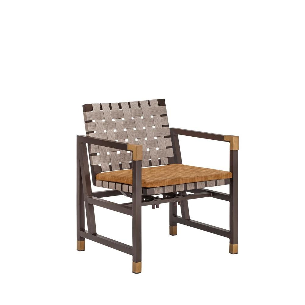 Form Patio Motion Dining Chair in Toffee (2-Pack) -- CUSTOM