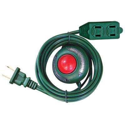 6 ft. 16/2 3-Outlet Extension Cord with Footswitch