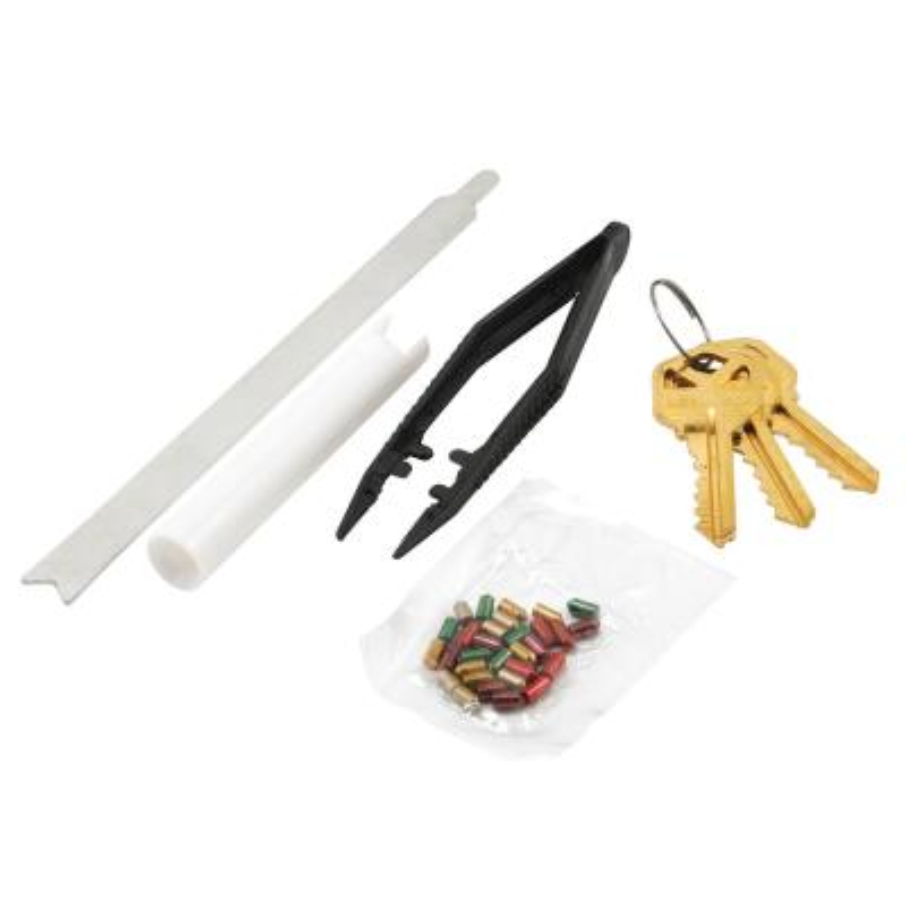 Kwikset Steel 5-Pin Door Lock Set Re-Keying Kit
