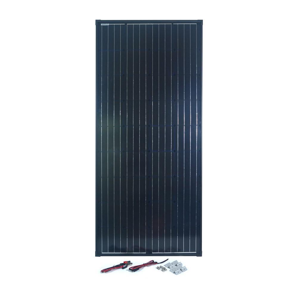 NATURE POWER 165-Watt Monocrystalline Solar Panel for 12-Volt Charging was $431.15 now $174.0 (60.0% off)