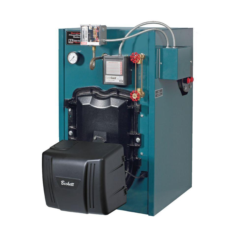 null MegaSteam MST396 Oil Cast Iron Steam Boiler with 95,000 BTU