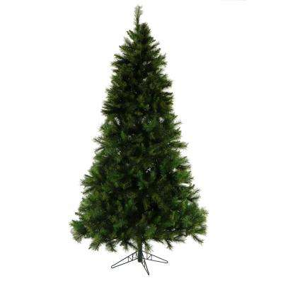 9 ft. Unlit Canyon Pine Artificial Christmas Tree