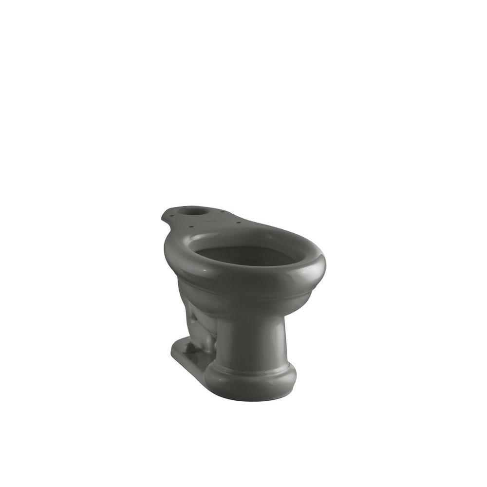 Kohler Revival Elongated Toilet Bowl Only In Thunder Grey