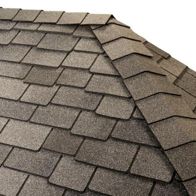 Timbertex Castlewood Gray Double-Layer Hip and Ridge Cap Roofing Shingles (20 lin. ft. per Bundle) (30-pieces)