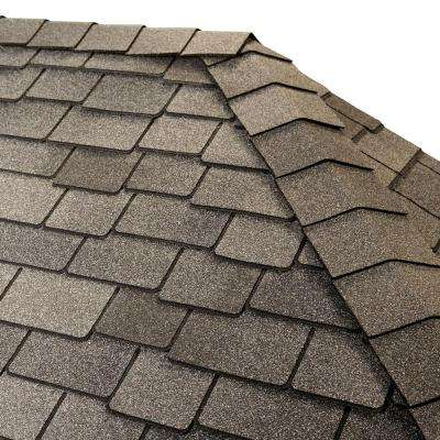 Timbertex Castlewood Gray Premium Hip and Ridge Shingles (20 lin. ft. per Bundle)