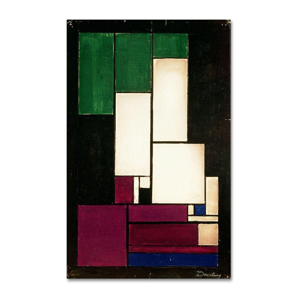 19 in. x 14 in. Composition Canvas Art
