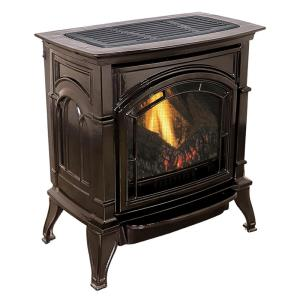 Ashley Hearth Products 31,000 BTU Vent Free Natural Gas Stove Mahogany Enameled... by Ashley Hearth Products