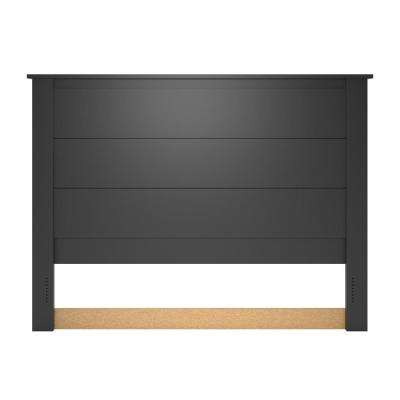 Meadow Ridge Queen Black Headboard