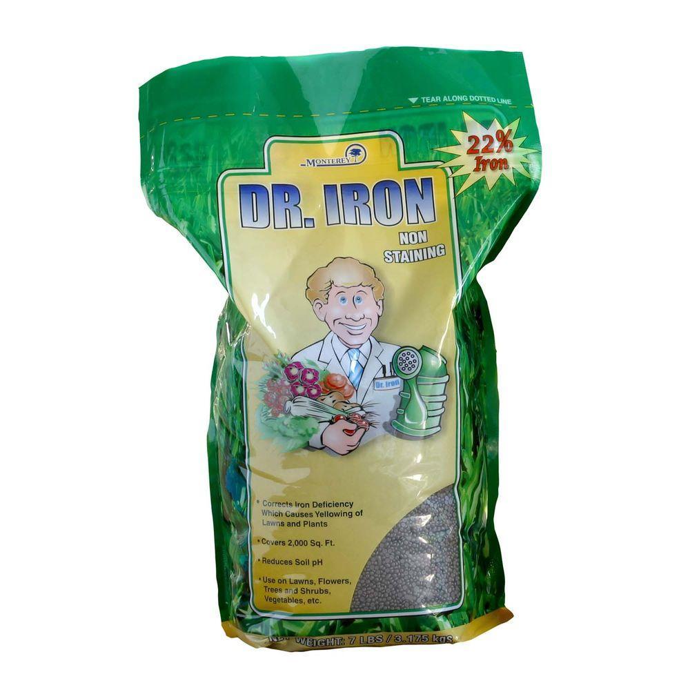 Dr. Iron 7 lb. Lawn Pellets