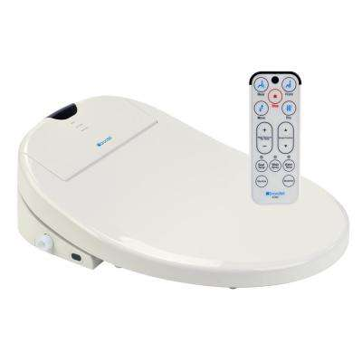 Swash 1000 Electric Bidet Seat for Round Toilet in Biscuit