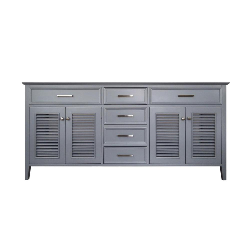 Bath Vanity Cabinet Only Grey