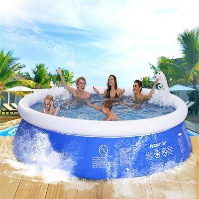 10 ft. Round 30 in. Deep Easy Set Above Ground Inflatable Pool