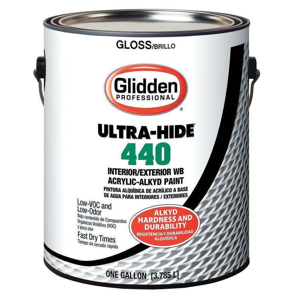 Glidden Pro At The Home Depot: Glidden Professional 1 Gal. Ultra-Hide 440 WB Acrylic