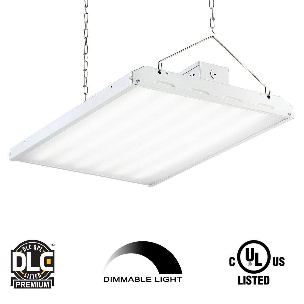 EnviroLite 135-Watt 2 Ft. White Integrated LED Backlit