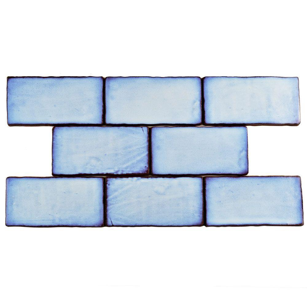 Blue - 3x6 - Tile - Flooring - The Home Depot