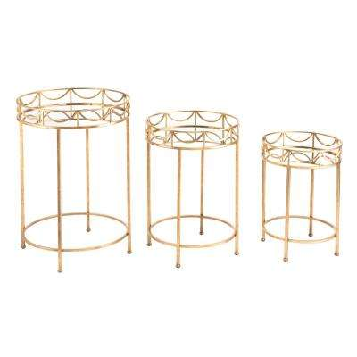 Gold Side Tables Gold
