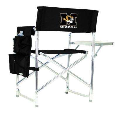 University of Missouri Black Sports Chair with Digital Logo