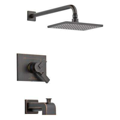 Vero 1-Handle Tub and Shower Faucet Trim Kit in Venetian Bronze (Valve Not Included)