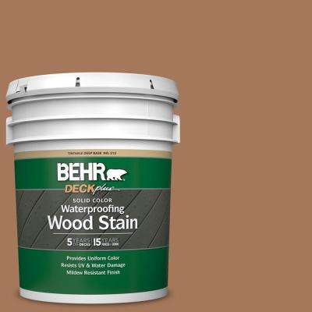 5 gal. #SC-146 Cedar Solid Color Waterproofing Exterior Wood Stain