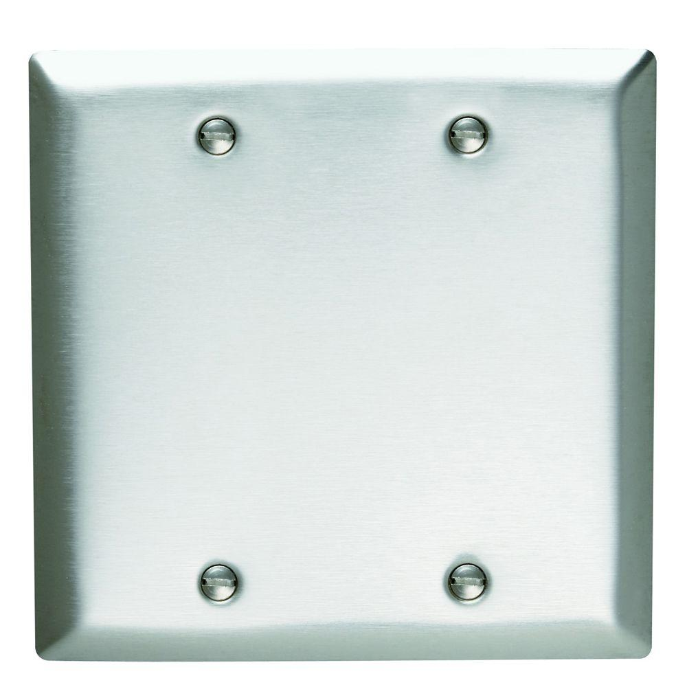 Blank Switch Plate Prepossessing Blank Wall Plates  Wall Plates  The Home Depot Decorating Design