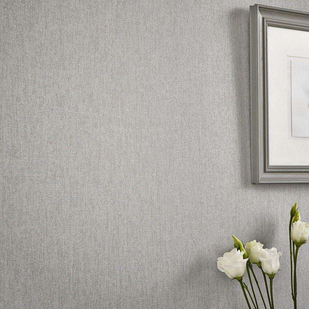 Graham Brown Grey Luna Wallpaper 20 740 The Home Depot
