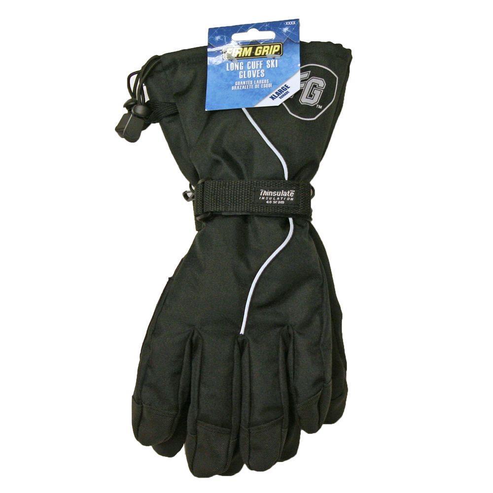 Firm Grip X-Large Long Cuff Ski Glove