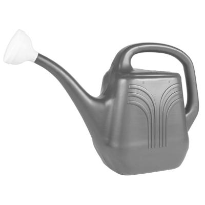 Classic 2 Gal. Charcoal Plastic Watering Can