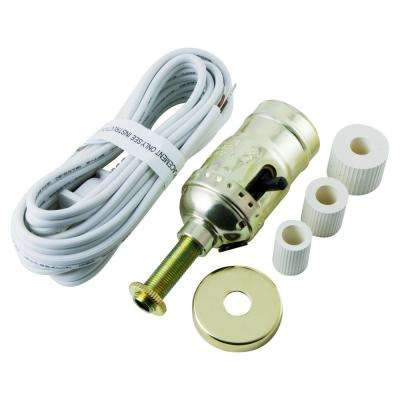 Bottle Lamp Kit Cord, White