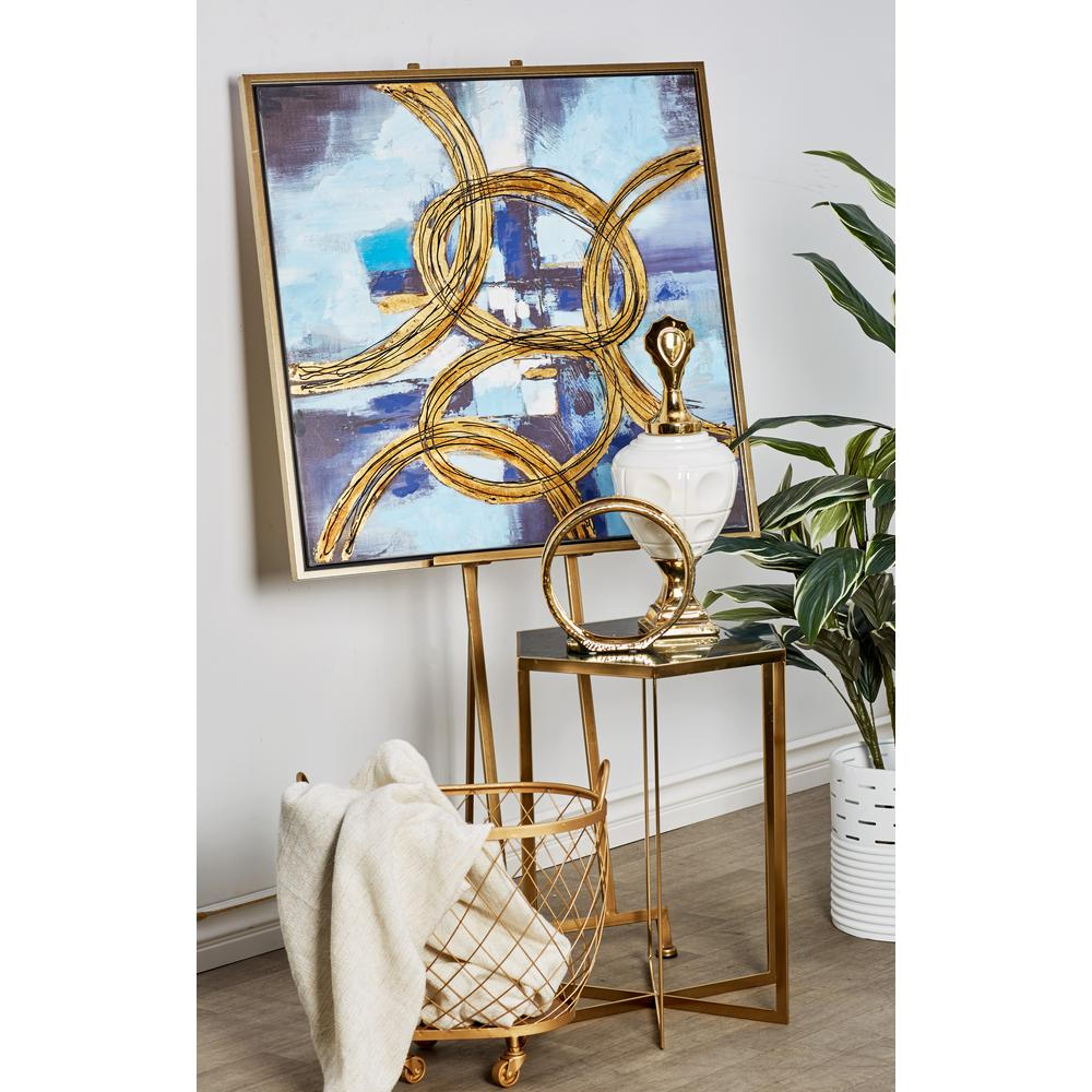 Smooth Gold Iron Easel