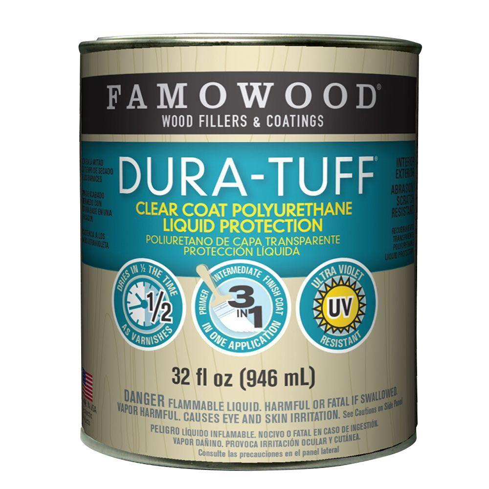 FAMOWOOD 1-qt. Dura-Tuff Clear Coat and Finish (4-Pack)