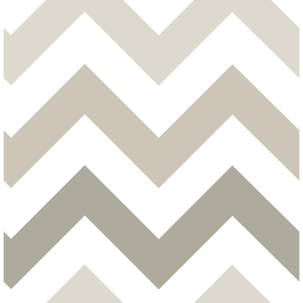 Taupe Zig Zag Greys Wallpaper Sample