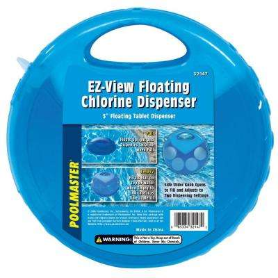 Clear-View Swimming Pool and Spa Chlorine Dispenser
