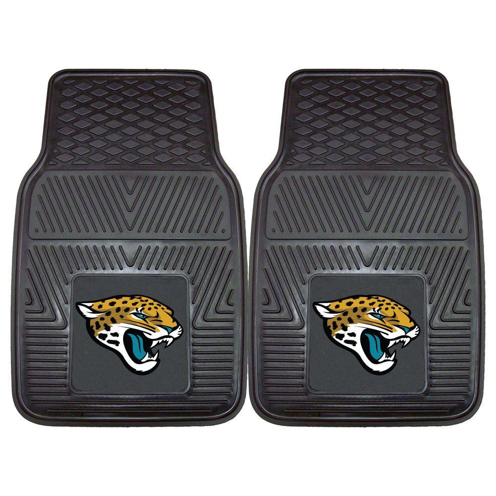 Jacksonville Jaguars 18 in. x 27 in. 2-Piece Heavy Duty Vinyl