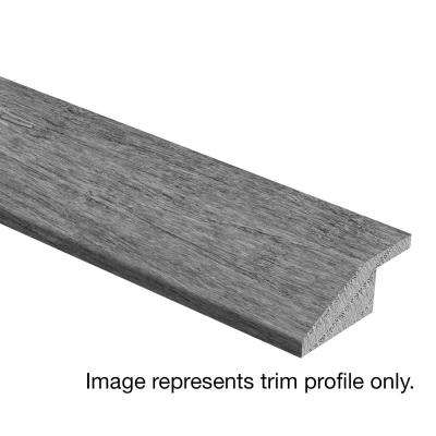 Stand Woven Bamboo Charcoal 3/8 in. Thick x 1-3/4 in. Wide x 94 in. Length Hardwood Multi-Purpose Reducer Molding
