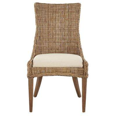 Genie Grey Kubu Wicker Dining Chair (Set of 2)