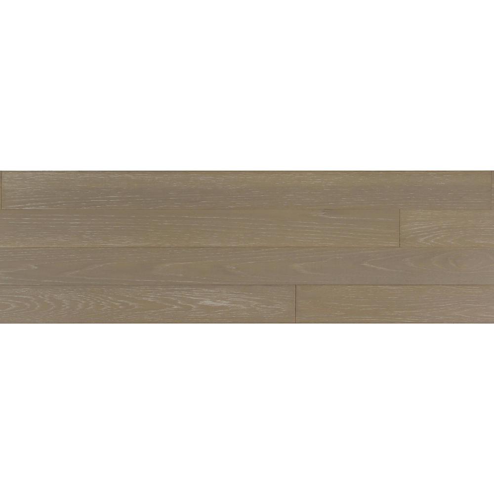 1/4 in. x 5.1 in. x Varying Lengths Stone HDF White Oak Shiplap Wall Plank (20.3 sq. ft./Carton)