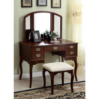 Excellent Makeup Vanities Bedroom Furniture The Home Depot Gmtry Best Dining Table And Chair Ideas Images Gmtryco