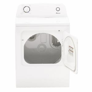 white amana electric dryers ned4655ew 40_300 amana 6 5 cu ft 240 volt white electric vented dryer with wrinkle