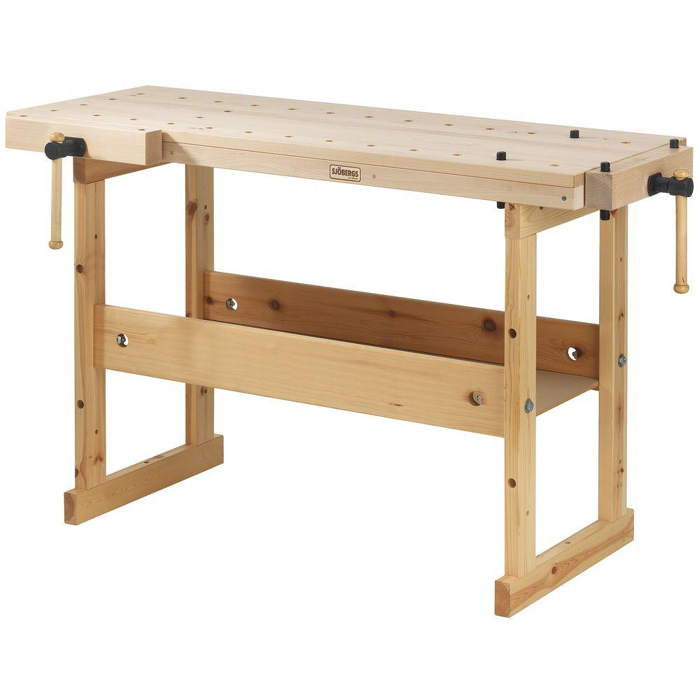 Sjobergs Hobby Plus 39 in. Workbench with Birch