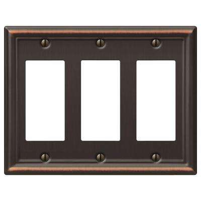 Chelsea 3 Decora Wall Plate - Oil-Rubbed Bronze