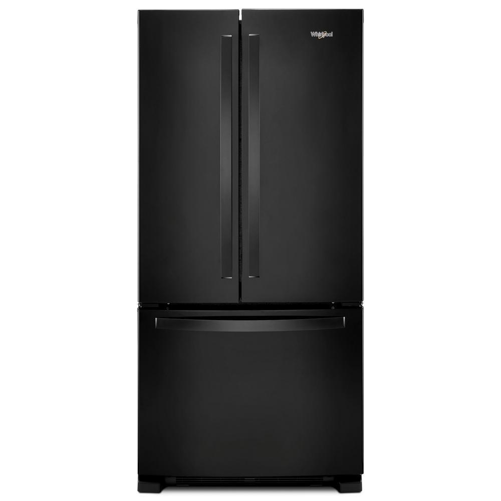 22 cu. ft. French Door Refrigerator in Black
