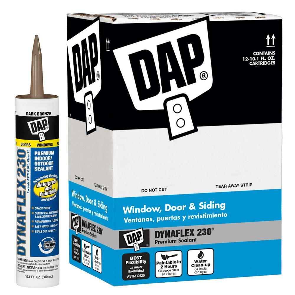 Dynaflex 230 10.1 oz. Dark Bronze Premium Indoor/Outdoor Sealant (12-Pack)