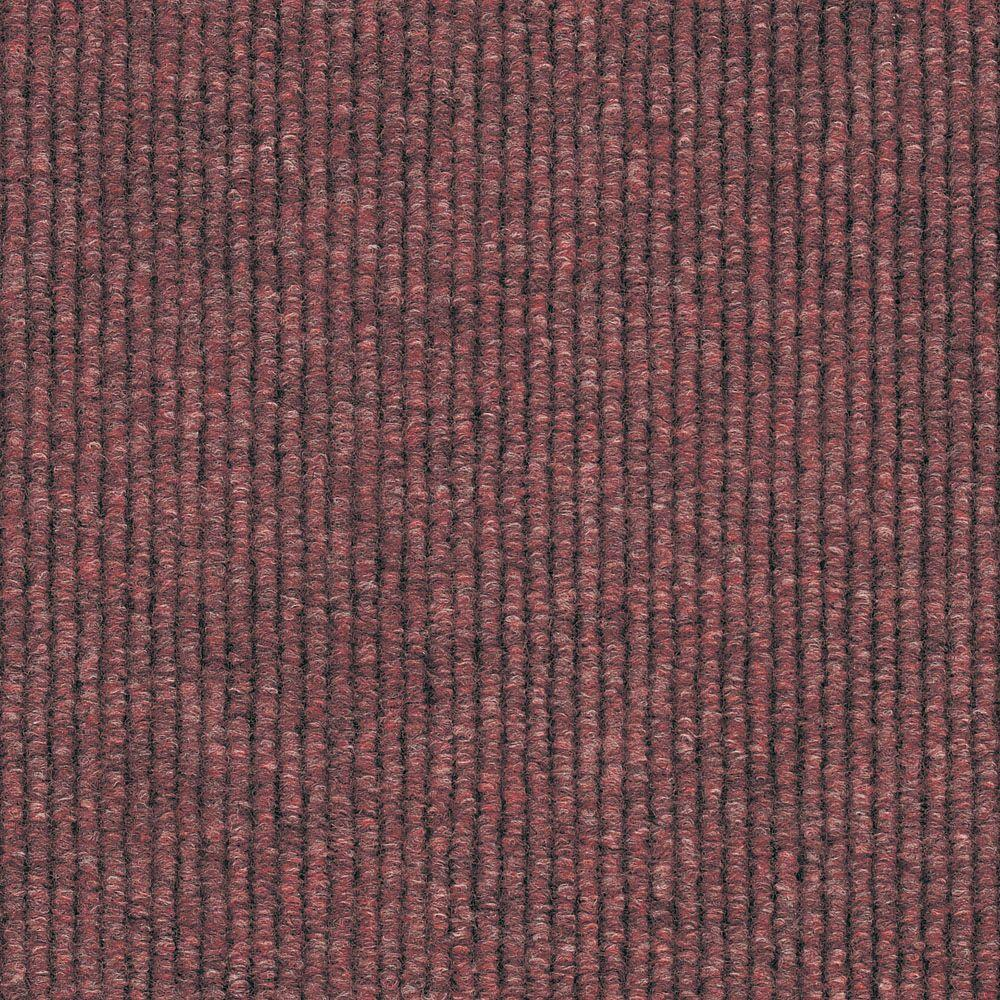 Shaw Living Berber Berry 12 in. x 12 in. Carpet Tiles (20-case)-DISCONTINUED