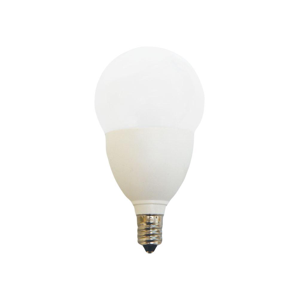 E12 Led Walmart: EcoSmart 60-Watt Equivalent A15 E12 Dimmable LED Light