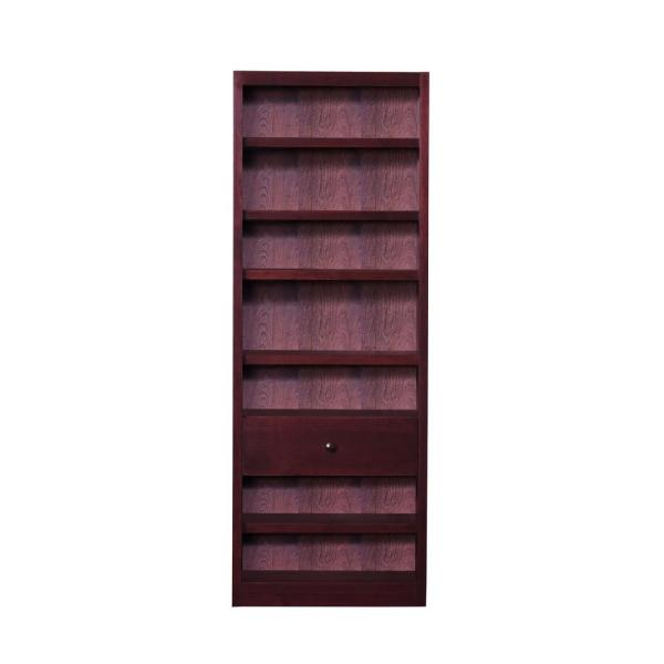 Concepts In Wood Cherry Open Bookcase BKFS-3084-C