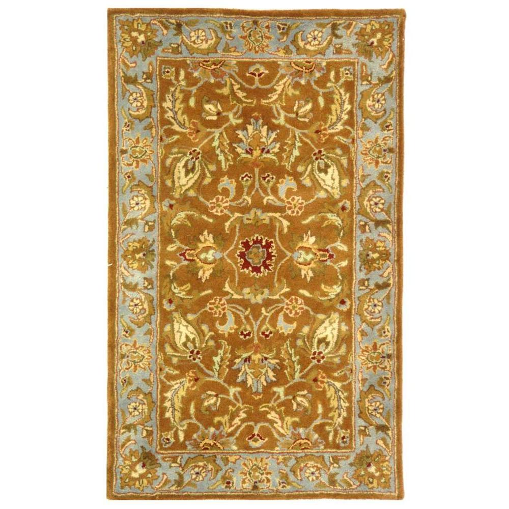 Safavieh Heritage Brown/Blue 2 ft. x 3 ft. Area Rug