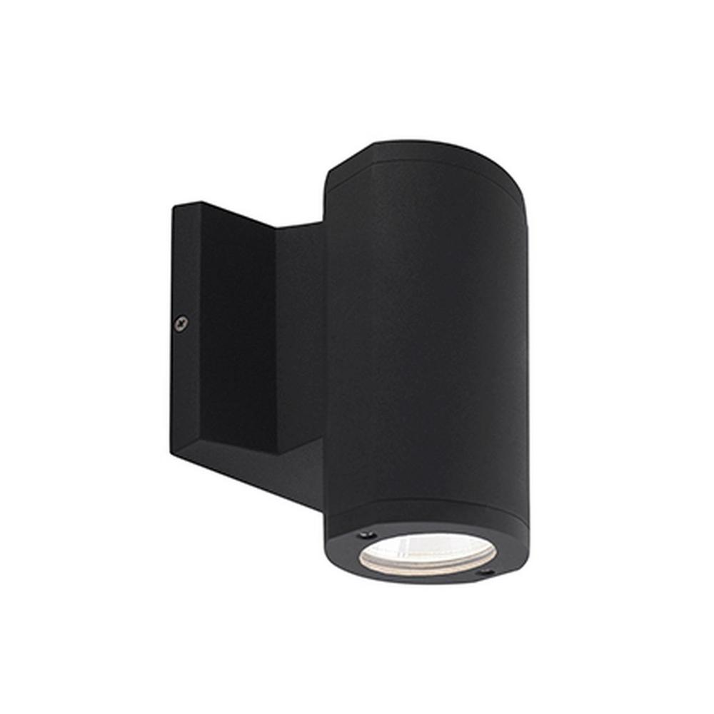 Wall Sconce With Integrated Switch : Radionic Hi Tech Rochester Black Outdoor Integrated LED Wall Mount Sconce-K_OS_6096 - The Home Depot