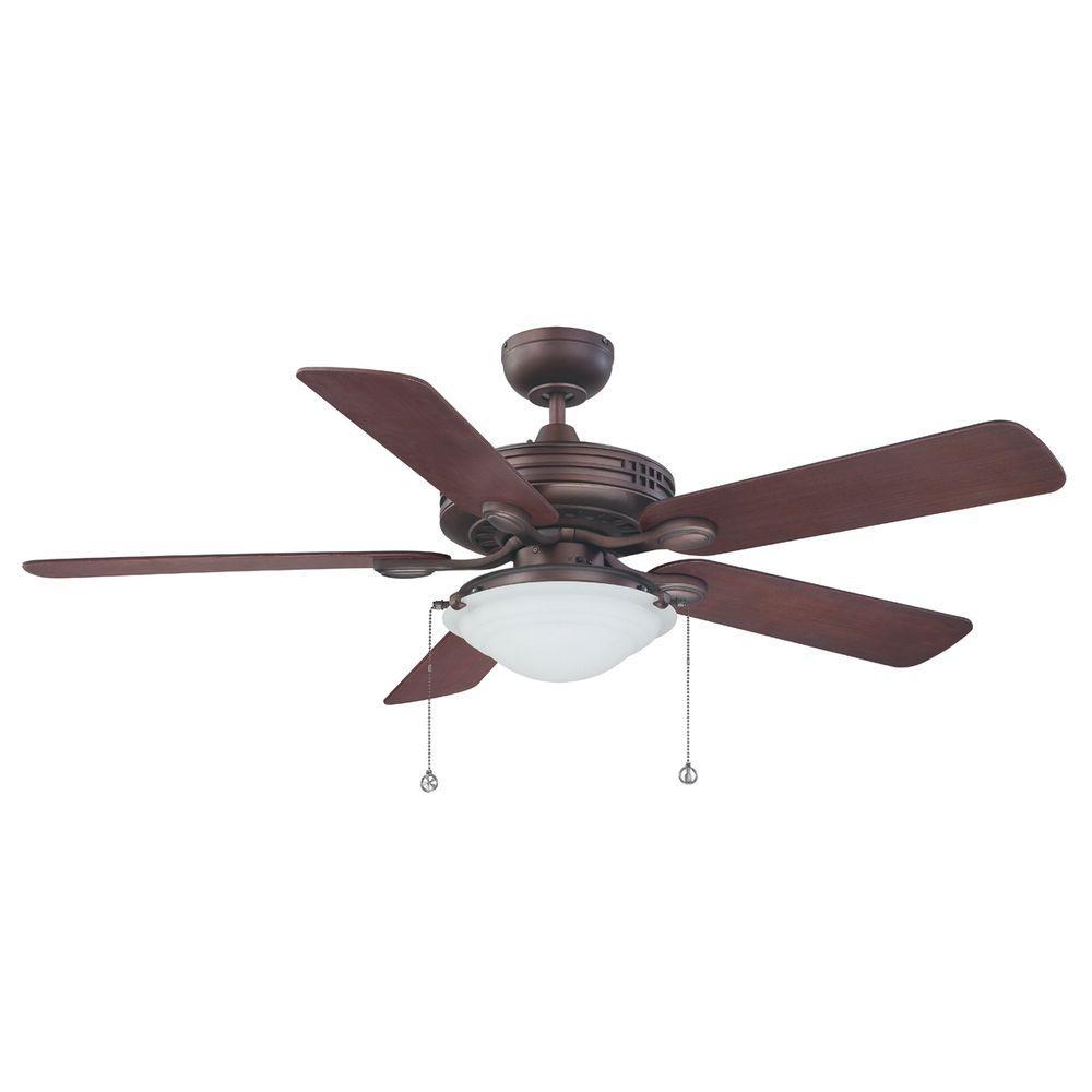 52 in. Oil Brushed Bronze Ceiling Fan