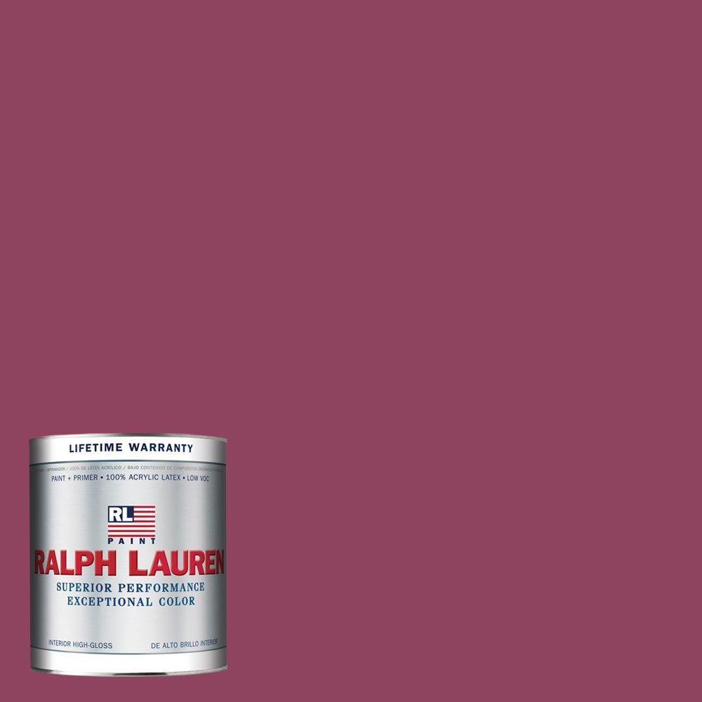 Ralph Lauren 1-qt. Roaring Pink Hi-Gloss Interior Paint