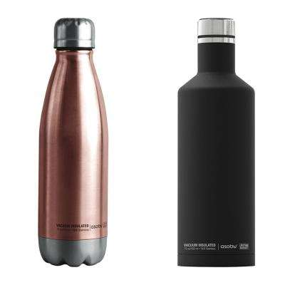 17 oz. Central Park Water Bottle and 15 oz. Times Square Travel Bottle 2-Piece Kit